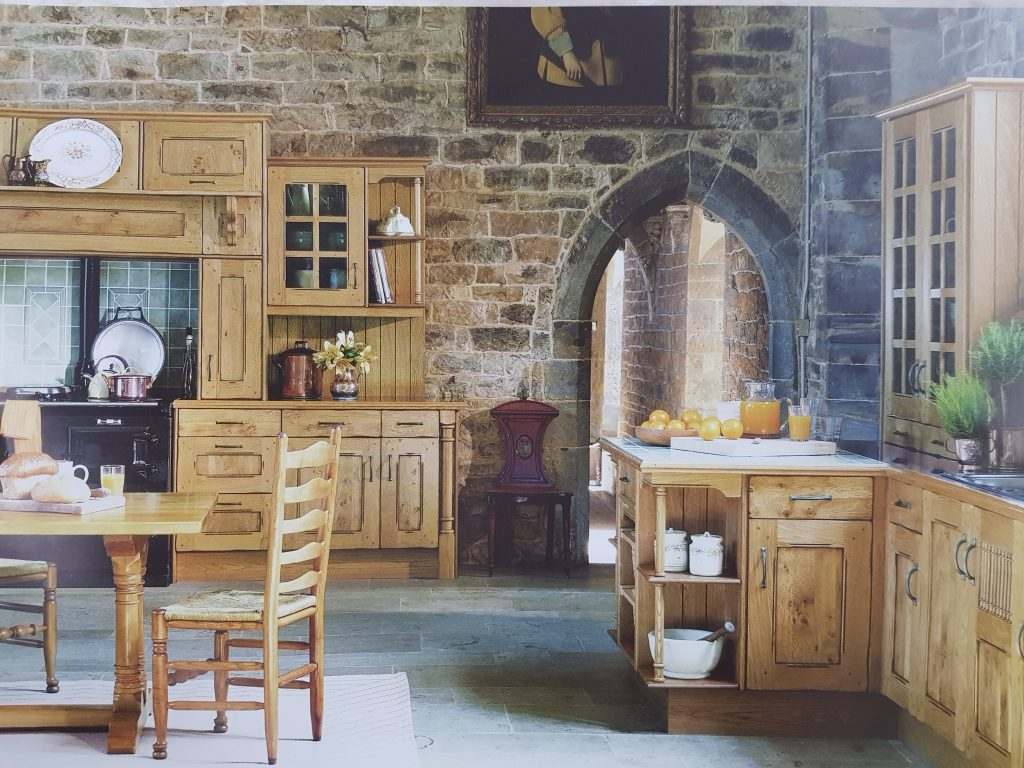 Castle design kitchen scheme